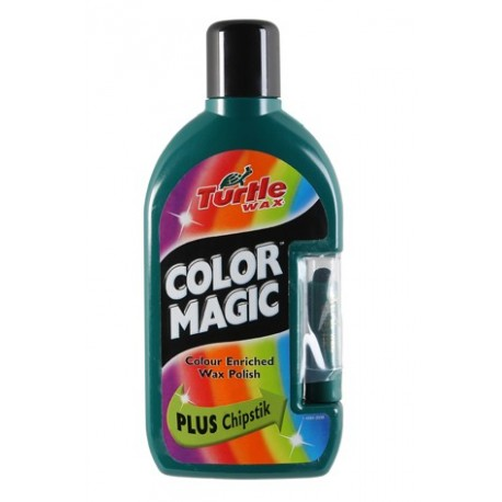 Color magic 500ml - Barevný vosk tm. zelený