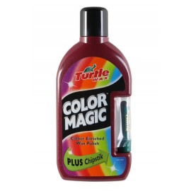 Color magic 500ml - Barevný vosk tm. červený
