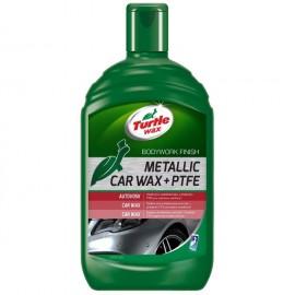 Turtle Wax Metalický vosk s PTFE tekutým voskem 500 ml