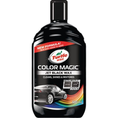 Color magic 500ml - Barevný vosk černý