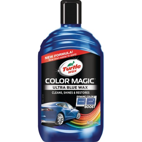 Color magic 500ml - Barevný vosk tm. modrý